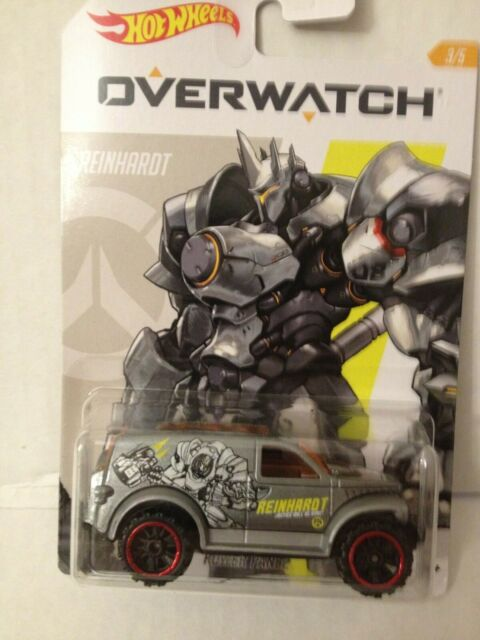 Overwatch Gaming Set 5 pcs soldier tracer dva 1:64 Hot Wheels