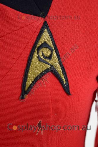 Blue//Red//Yellow Star Trek The Female Duty Uniform Dress Costume