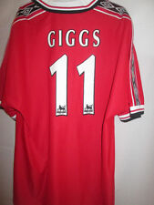 Manchester United 1998-2000 Giggs 11 Football Shirt Size XXL /15479