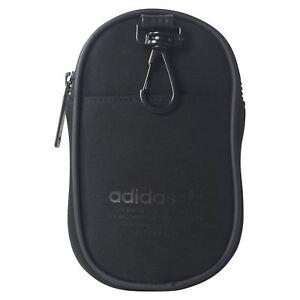 High Fashion reich und großartig letzte Auswahl Details about Adidas Original Nmd Zubehör Tasche Schwarz Fest Tasche Klein  Mini Neu