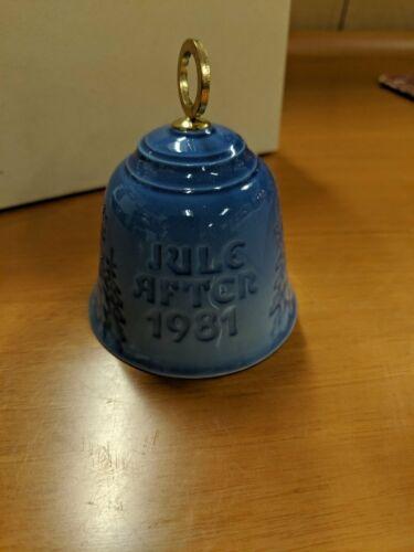 Bing /& Grondahl Christmas Bell Jule After 1981