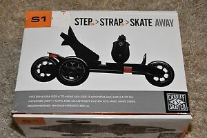 EXCELLENT Cardiff Skates S1 used for 20 minutes max! 3 wheel roller skate S1-002