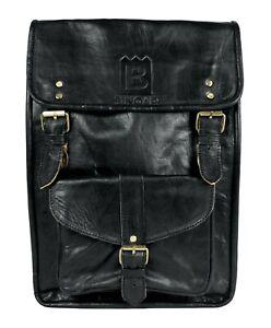 Binoar Manal Echt Rucksack Leder Fairtrade Echtleder Ziegenleder Backpack HpwF5q