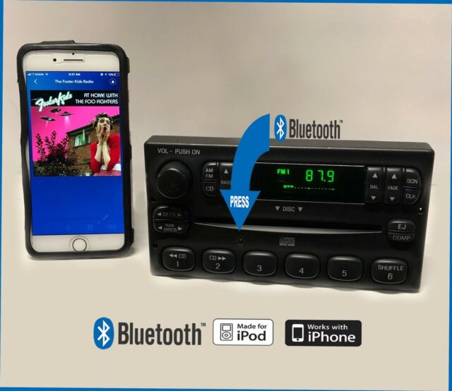 2003 2004 Ford F150 Am Fm Cd Radio With Aux Port For Ipod Rhebay: 2004 Ford Ranger Radio With Aux At Gmaili.net