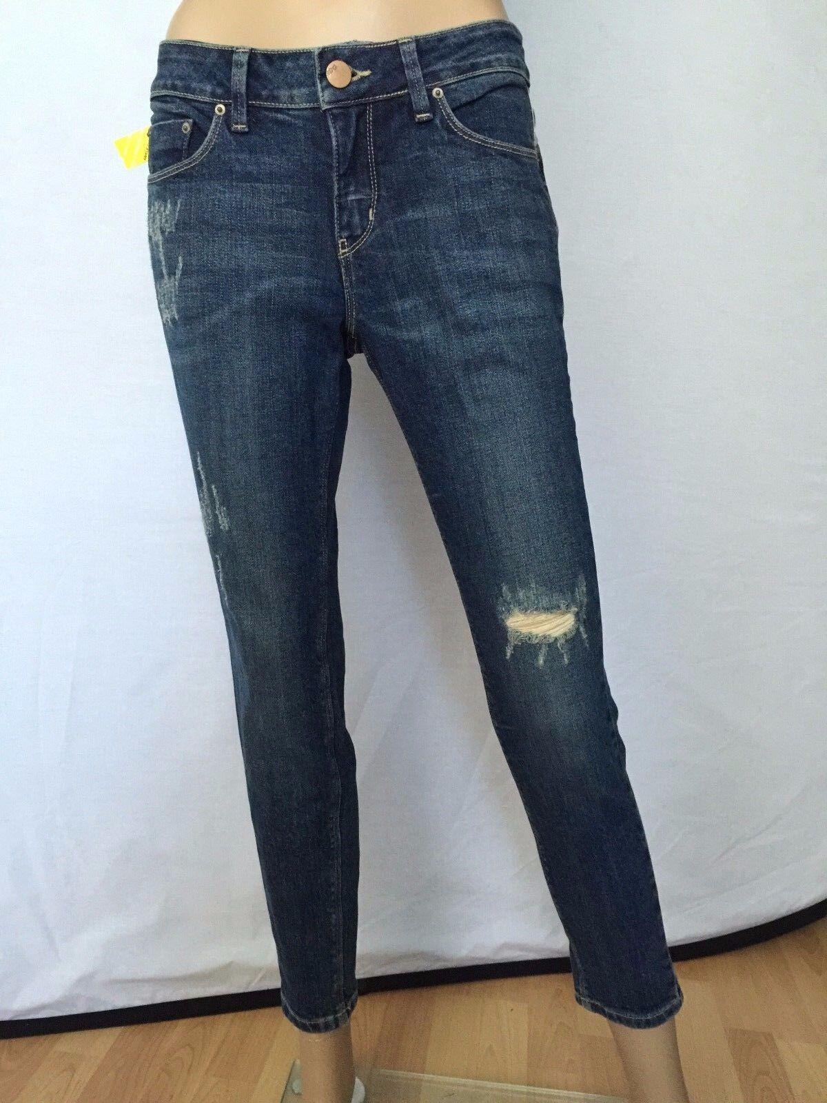 New Urban Outfitters BDG bluee Capri Pants Boyfriend Jeans Size 28