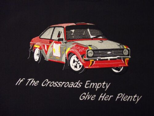 FORD ESCORT MK11 SOFTSHELL JACKET EMBROIDERED LOGOS  STYLE 1