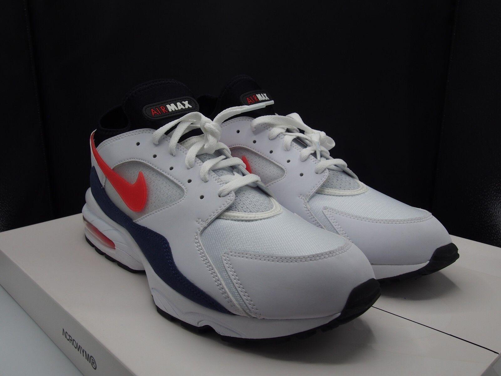 Nike Air Max 93 Habablack Red 306551-102
