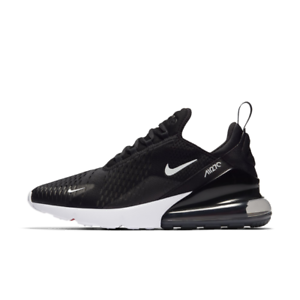 Nike Men Air Max 270 Running shoes Black White AH8050-002 US7-11 04'