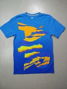 The-Nike-Tee-Sportswear-Logo-Tshirt-Size-small-mens-swoosh-check-Nike-Air-fade