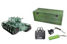 RC Panzer RUSSIA KV-1S Schuss, Rauch und Sound 2.4 GHz AMEWI Edition 23069