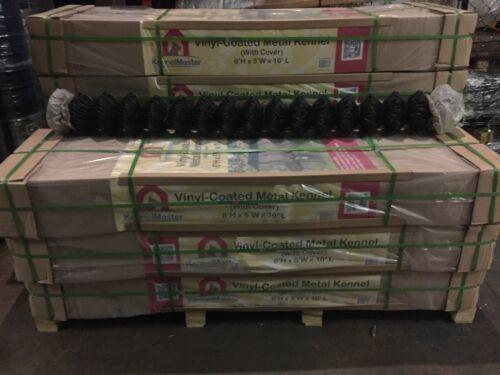 H x 28/' 6/' Black Powder-Coated Chain Link Fence.Qty: 1 Rolls L