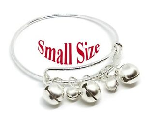 fcddca8d7f788 Details about 925 Sterling Silver Small Childrens Size Adjust 5-1/2