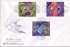 UNO Trio FDC Michel Nr. 10  vom 21.09.1993