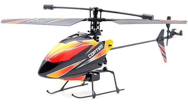 Mini Elicottero Radiocomandato WL Toys V911 2.4 Ghz 4 Canali 4Ch