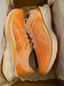 Details about Men's Asics Size 11 Novablast Orange Pop White Running Shoe 1011A778-800 NEW