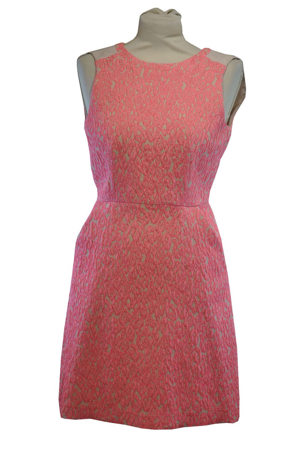 Whistles  Neon rosa con texture abito   turni tasche anteriori