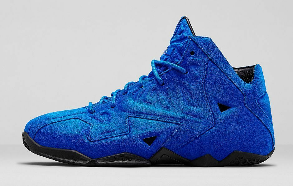 Nike LeBron 11 XI EXT Blue Suede Size 14. 656274-440 Kyrie MVP Cavs