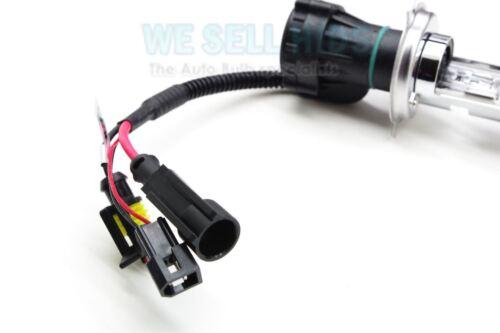 Lo Light Bulbs H4 H4-3  6K 8K 10K 43k 35W HID Bi Xenon Dual Beam Hi HARNESS