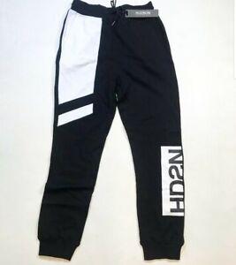 Hudson-Outerwear-100-AUTHENTIC-Men-039-s-LARGE-black-and-100-Cotton-Rare