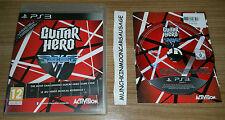 Guitar Hero Van Halen Pal Formato Sony PlayStation 3 PS3 25 Hits + 19 actos invitado