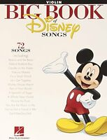 The Big Book Of Disney Songs - Violin (book Only) By , (paperback), Hal Leonard on sale