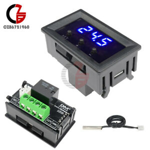 Details about W1209 12V Digital Thermostat Temperature Controller Switch  Sensor -50-110°C Case