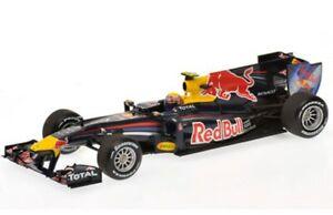 Minichamps 410 100006 110072 MARK Webber RED BULL F1 Model Cars 2010/11 1:43rd