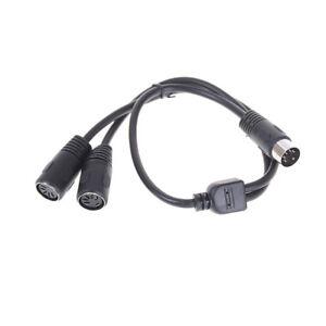 1x-50cm-5-Pin-MIDI-DIN-Y-Splitter-Kabel-Adapter-1-Stecker-auf-2-FemaleSocke-CL
