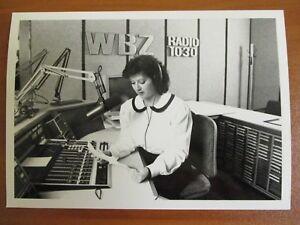 Vintage Glossy Press Photo WBZ Radio's Afternoon News