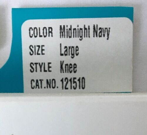 High L Midnight Calza Navy Support Knee Jobst Comoda compressione 20 M 30mmhg o Cq1ZSwO5x