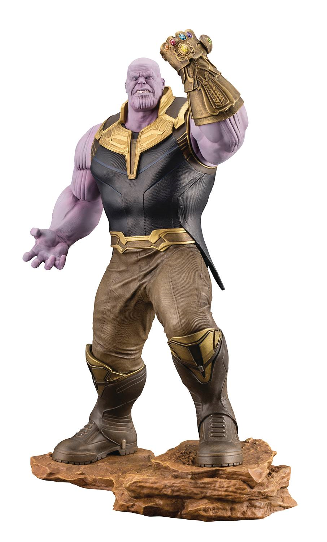 Marvel - comics  infinity krieg thanos artfx + statue abbildung von kotobukiya