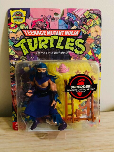 Shredder Teenage Mutant Ninja Turtles 25th Anniversary *Rare Collectables*