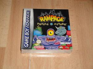 RAMPAGE-PUZZLE-ATTACK-DE-MIDWAY-PARA-LA-NINTENDO-GAME-BOY-A-GBA-NUEVO-PRECINTADO