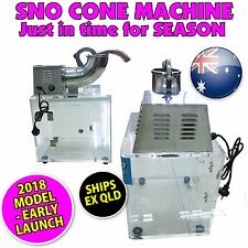 Snow Cone Machine Shaved Ice Commercial - Sno & Fairy Floss users ICE SHAVER