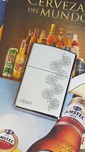 Mechero-Zippo-Original-Classic-Nice-Logo-2009-NO-BOX-New-1012-Rare-Briquet
