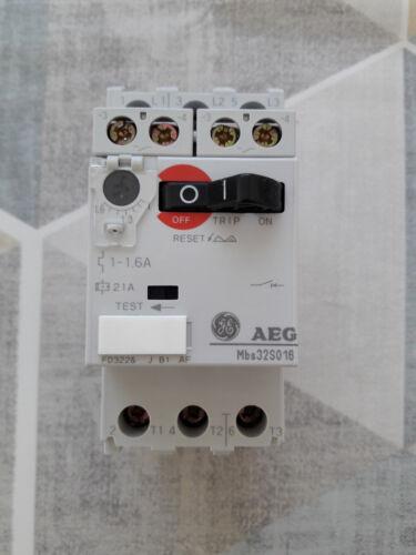 0,63-1A einstellbar Motorschutzschalter AEG Mbs32S010