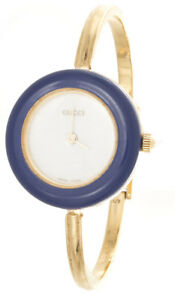 022655ca576 GUCCI Women s 18k Gold Electroplated White Dial Watch 11 12.2 ...