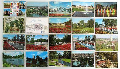 Sparsam Postkarten Sammlung Karlsruhe 20 Farbige Ansichtskarten Gelaufen Ab/nach 1965