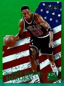 Scottie Pippen insert card Heroes 1996 Fleer USA Basketball #7