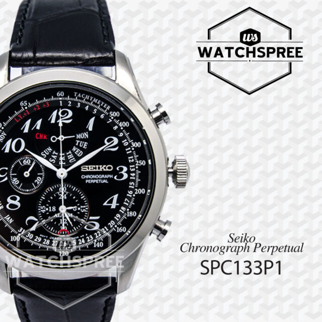 Seiko Chronograph Perpetual Watch SPC133P1 AU FAST & FREE