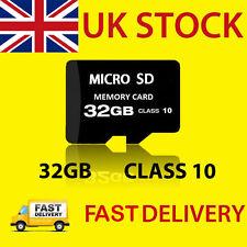 32GB Class 10 PREMIUM Micro SD Card + Adapter TF SDHC Flash Storage Memory UK