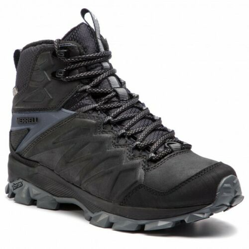 Merrell Thermo Freeze Tall Mens Waterproof Hiking Walking Black Boots Insulated