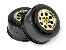 HPI RACING BLITZ FLUX 106192 MK.8 V2 WHEEL GOLD (4.5MM OFFSET/2PCS) GENUINE PART