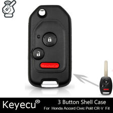 KR55WK49308 N5F-A05TAA N5F-S0084A and CR-V Civic Ridgeline STAUBER Best Key Shell Replacement for Honda Accord Green NO Locksmith Required Using Your Old Key and chip!