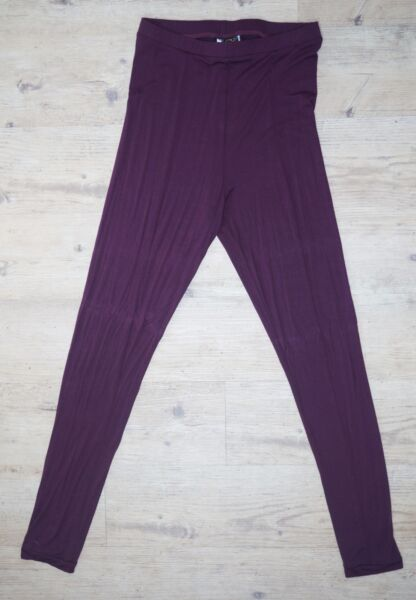 2019 Moda Pannello Rei Plum Donne Leggings Girovita Alto 4 Way Stretch
