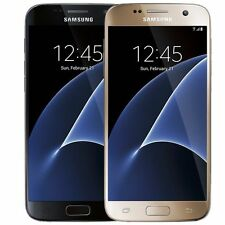Samsung Galaxy S7 32GB (Verizon Straight Talk Unlocked ATT GSM) Black Gold