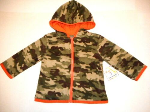 Hoodie jacket Baby sweat jacket Outerwear Fleece Sweater Camouflage Hoodie 18 mo