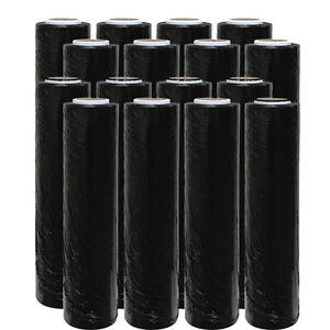 Rolls-of-high-performance-BLACK-pallet-stretch-wrap-400mm-200m-17mu-Cling-Film