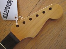 FENDER LIC NECK FOR STRATOCASTER - MAPLE & ROSEWOOD WITH AGED FINISH