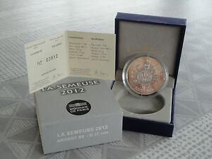 10-euro-BE-France-2012-argent-LA-SEMEUSE-2012-RARE